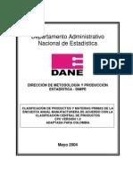 Clasificacion de Productos y Materias Primas EAM (1)