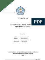 Kisah Sang HTML Php Dan Pembahasannya
