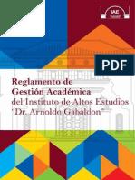 Reglamento de Gestion Academica