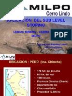 SUBLEVEL STOPING CERRO LINDO.ppt