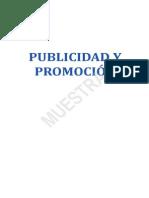 Publicidad y Promocion Muestra