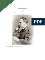 Nietzsche is Pietzsche