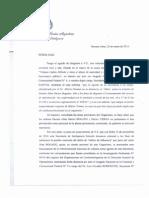 Parrilli negó que dos de los denunciados por Nisman fueran espías