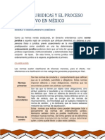 Normas Jurídicas y El Proceso Legislativo en México