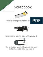 T scrap book