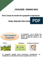 2da Clase Campo de La Geografia 2015