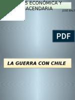 Guerra Con Chile y Reconstrucción Nacional