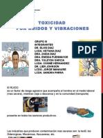 Diapositiva Trabajo Toxicidad Ruido y Vibraciones