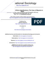 Personal Networks and Ethnic Identifications in Spain
