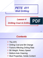 Drill Cost Rate