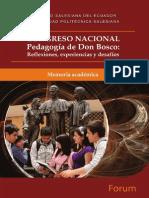 Congreso Nacional Pedagogia de Don Bosco 4