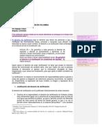 Derecho de Rectificacion en Colombia-Natalia Tobon