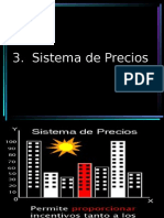 3. Sistema de Precios