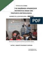 EL PROCESO DE ENSEÑANZA APRENDIZAJE DE LA MATEMATICA 1309.pdf