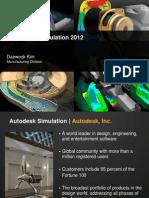 Autodesk Simulation 제안서 Type1(영문)