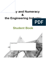 engineering - literacy and numeracy exercise student task
