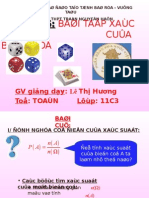 On tap Chuong II To hop Xac suat.ppt