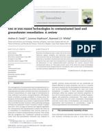 Nanoiron Remediation Review(1)