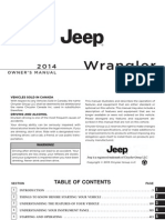 Jeep Wrangler 2014 - Owners Manual