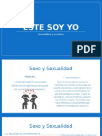 Presentación. Sexo y Sexualidad