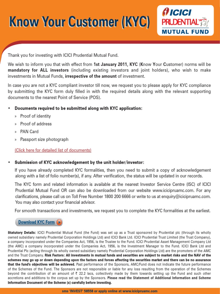 Kyc Form Download