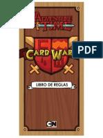 Libro de Reglas Adventure Time Card Wars (en Español)- CWC