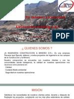 Presentacion JA Ingenieria Construcción & Minería Srl