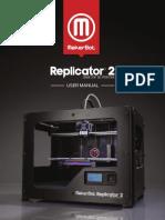 MakerBot Replicator2 User Manual