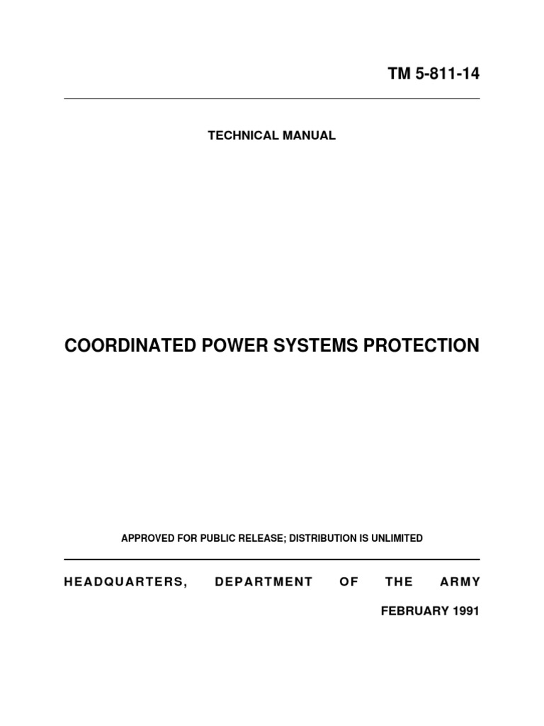 power system protection coordination fuse electrical electric rh scribd com Electrical Distribution System Relay Switch Electrical Power Distribution Systems Engineering