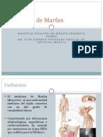 Síndrome de Marfan SEMINARIO