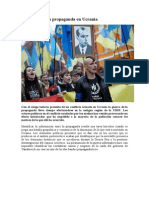 La Guerra de La Propaganda en Ucrania