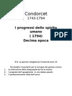 Condorcet. i Progressi Dello Spirito Umano