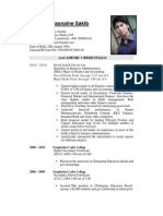 CV of Shahriar Hasnaine