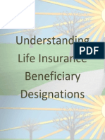 Understanding Life Insurance Beneficiary Designations