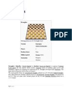 Draughts Rules & Notations