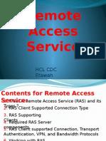 remote accessB service-