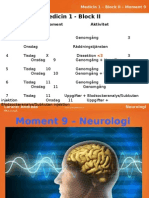 Moment 9 - Neurologi