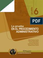 La Prueba en El Procedimiento Administrativo