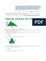 Calculo de Areas