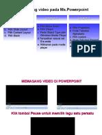 Cara Pasang Video Pada Mspowerpoint