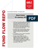 Fund Flow Report-Tide Out of Asia Continues-MIDF-190115