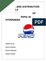 Pepsico Sdm Project
