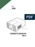 Eiki Lc x80 Manual