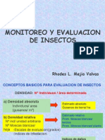 MONITOREO Y EVALUACION DE INSECTOS.ppt