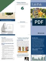 Lifepak Trifold Brochure