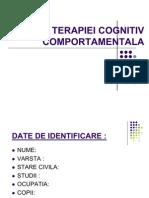 Etapele-terapiei Cognitiv Comportamentale