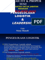 Pengelolaan Logistik