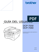 manual de usuario Brother DCP 7030 7040 ES 1511