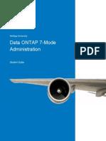 Data ONTAP 7-Mode Administration. StudentGuide.pdf