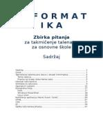 Zbirka Zadataka Os Informatika